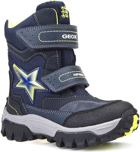 0dcb0192b Geox Chlapčenské zimné topánky JR LT Himalaya - tmavo modré - Glami.sk