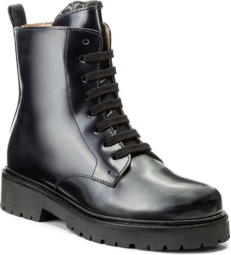 Magasított cipő TWINSET - Anfibio CA7PHN Blue Black 00894 - Glami.hu 2196d774bd
