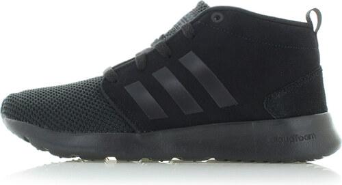 adidas CORE Dámske čierne členkové tenisky ADIDAS Cloudfoam QT Racer ... 980f9b60c5