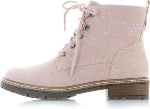 Růžové kotníkové boty s.Oliver 26212 - Glami.cz af97cb0cb2