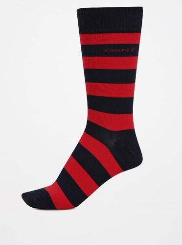 Červeno-modré pánské pruhované ponožky GANT - Glami.cz 9a14bf2472