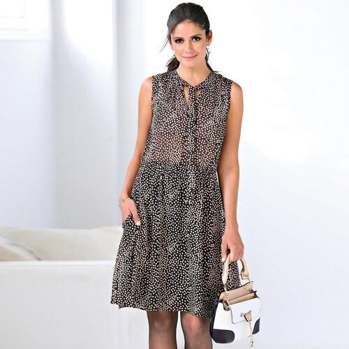 Venca Krátké šaty s puntíky růžová - Glami.cz 919a202db6