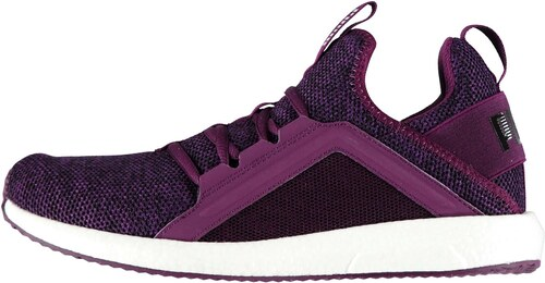 d6c1c7bddd84ca Puma Mega NRGY Knit Ladies Trainers Purple - Glami.cz