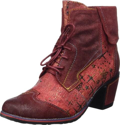 Aflenz, Damen Chukka Boots, Braun (Brown/Red), 37 EUBergheimer Trachtenschuhe