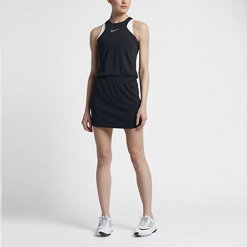 f6f744d8ec71 Nike W šaty Zonal Cooling Dri-Fit černé - Glami.cz