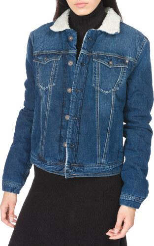 Női Pepe Jeans Core Dzseki Kék - Glami.hu c016bf6b10