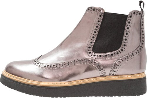 San Marina MAIZA MIR - Boots à talons argenté ewsWdFSIyn