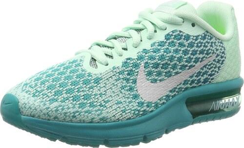 newest 34445 74a00 Nike Air Max Sequent 2 GS Chaussures de Gymnastique garçon, Vert (Mint Foam