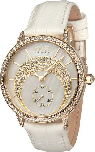 42617e4b6 Dámské bílo-zlaté hodinky Esprit EL101132F07 Dike - Glami.cz