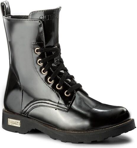 Magasított cipő GUESS - Nafa FLNAF3 ELE10 BLACK - Glami.hu 81c629d5fa