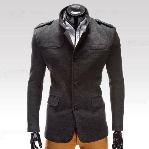Ombre Clothing Kabát Augustino šedý M - Glami.sk 9ec55be5d42
