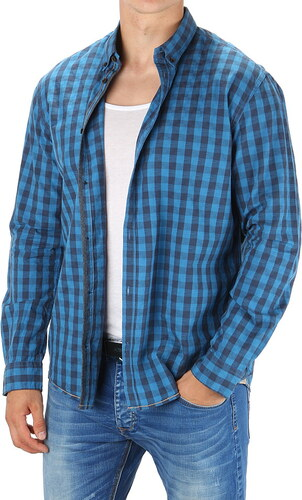 Pánská kostkovaná košile Tom Tailor - Glami.cz c83acba2af