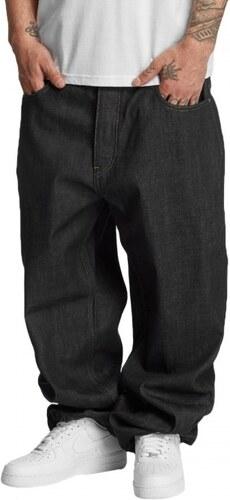 Dangerous DNGRS nohavice pánske New Level Baggy Fit Jeans Raw Indigo ... 26b3d2af5c
