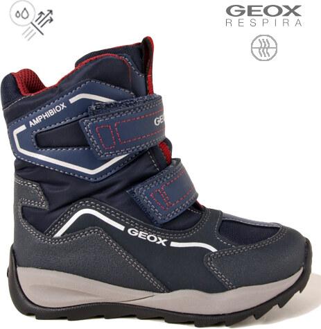 GEOX Chlapecké zimní sněhule Geox J740BE - Glami.cz 81356f60a4