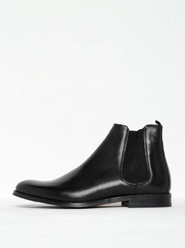97447e126f Čierne pánske kožené chelsea topánky Royal RepubliQ - Glami.sk