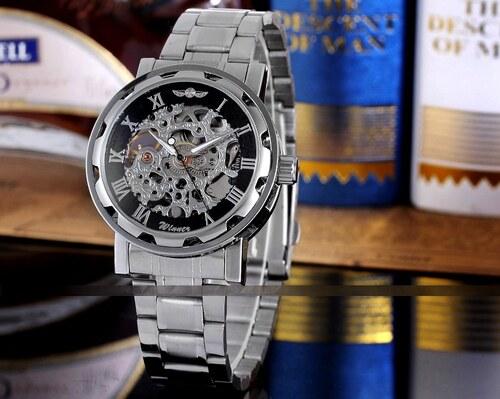 Pánské mechanické hodinky Winner JS08 - Glami.cz e01aecf8df