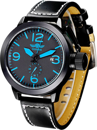 Pánské mechanické hodinky Winner WU8035 - Glami.cz aa29c40294