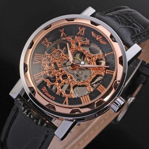 628417166c8 Pánské mechanické hodinky Winner JS12 - Glami.cz