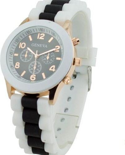 Shim Watch Silikonové hodinky Geneva černé - Glami.cz 76512f79e1