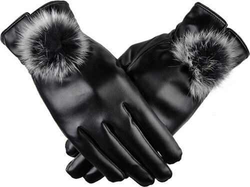 Cixi Dámské elegantní rukavice - černé - Glami.cz b3a1aea644