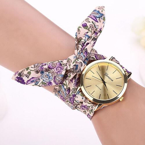 Shim Watch Dásmké hodinky Geneva na vázaní purpurové - Glami.cz ec226c081a