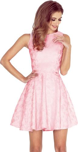 cd573c08a60 Numoco Barbie šaty - pastelově růžové - Glami.cz