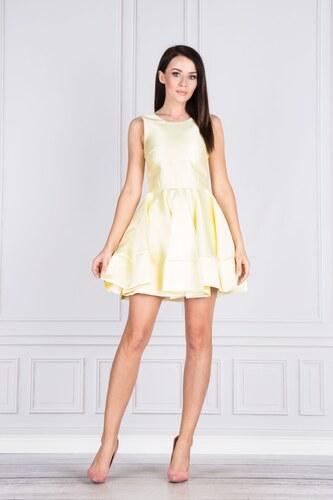 c5b2c54e83c4 Elegantné mini šaty so záhybmi BICOTONE - Glami.sk