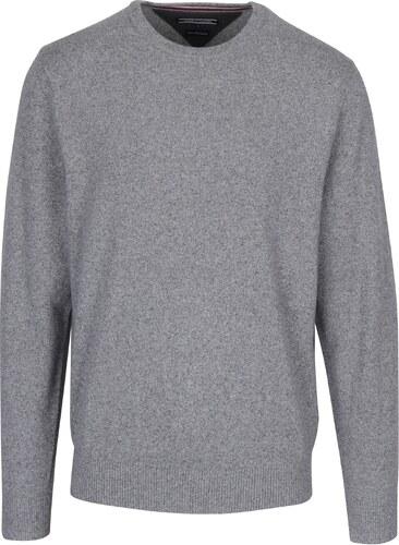 ec0cec3c57 Sivý pánsky sveter s prímesou hodvábu Tommy Hilfiger Elevated - Glami.sk