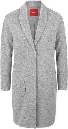 s.Oliver oversize sivý kabát - Glami.sk 5132d40a0fe