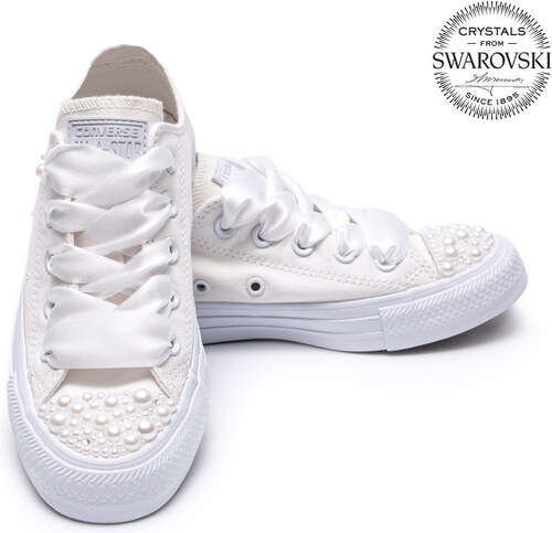de71fe92ca Converse Pearls Wedding edition - Glami.sk
