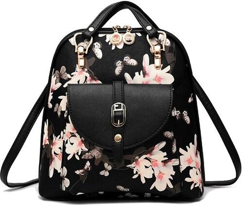 Ostatní Módní batoh s potiskem květů 9231591b7b