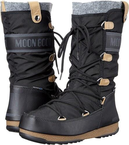 2be2a955bc boty Tecnica Moon Boot W.E. Monaco Felt - Black - Glami.cz