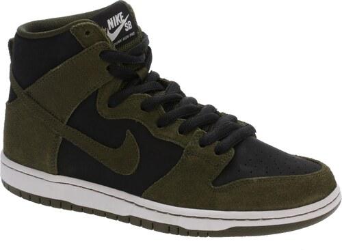 cafc6770204 boty Nike SB Zoom Dunk High Pro - Dark Loden Dark Loden Black White ...