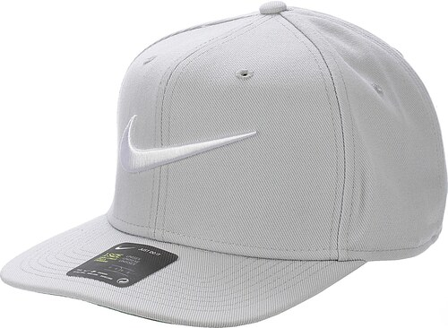 kšiltovka Nike Swoosh Pro - 014 Wolf Gray Pine Green Black White ... 5d2e9e57c8