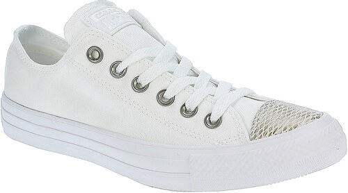 31744866fe4 boty Converse Chuck Taylor All Star OX - 557985 White White White ...
