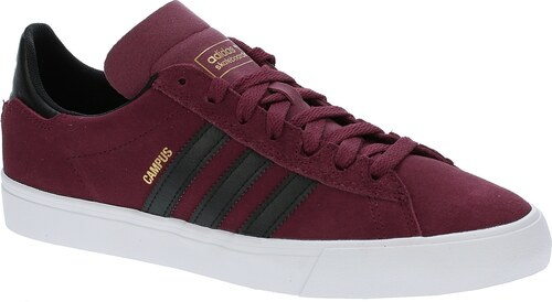 boty adidas Originals Campus Vulc II - Core Burgandy Core Black White 5452402002