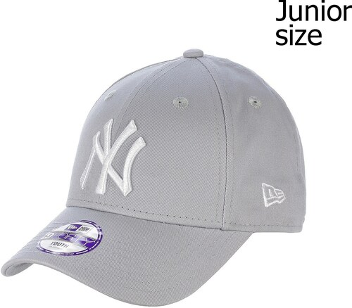 kšiltovka New Era 9FO League Basic MLB New York Yankees Youth - Gray Optic  White b99e6ebf1a