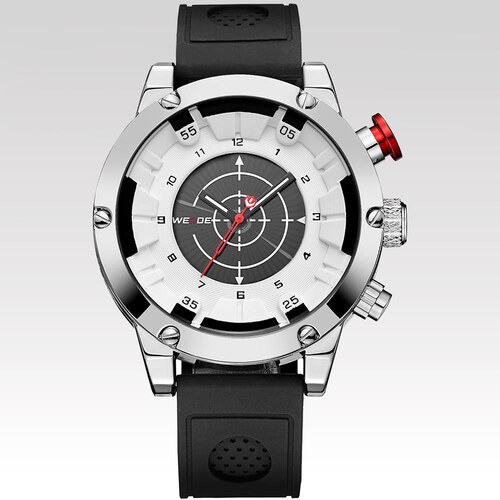 c88b7178ab3 Weide Pánské hodinky Accurate bílé - Glami.cz