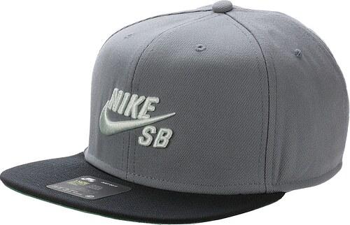 kšiltovka Nike SB Icon Pro - 065 Cool Gray Black Pine Green Barely ... 1c74850fae