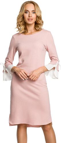 d477f37d6bf5 Světle růžové šaty MOE 327 - Glami.cz