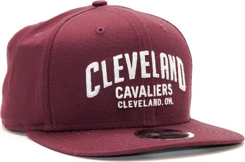 4f02a7c4be9 -11% Kšiltovka New Era Felt Script Cleveland Cavaliers 9FIFTY Maroon White  Snapback