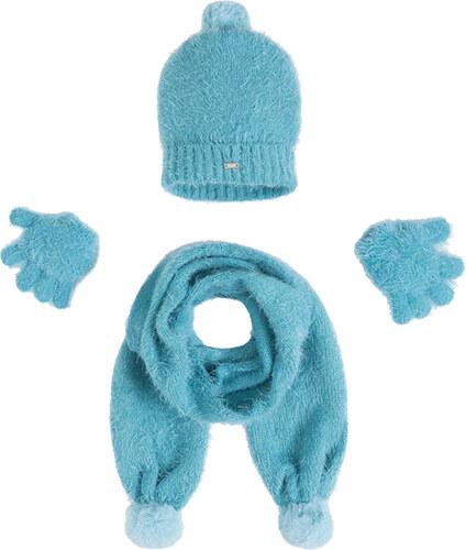 Mayoral 3-dílný set čepice rukavice šála OCEANO - Glami.cz d13f296b7c