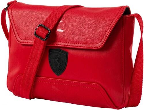 2e3931cb00 Dámská taška Puma Ferrari Ferrari LS Small Satchel Rosso Rosso Corsa ...