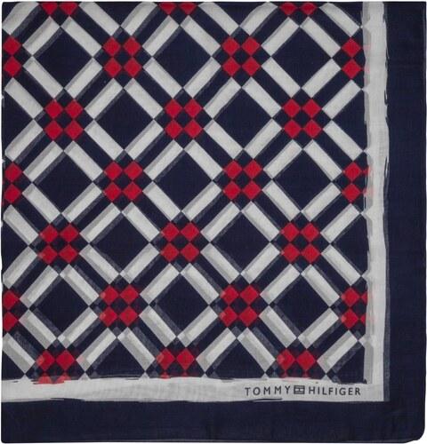 Tommy Hilfiger dámský šátek Geo Check - Glami.cz 7b5195fdeb
