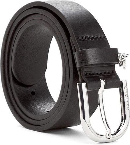 Opasok Dámsky TOMMY HILFIGER - Th Solid Charm Belt 3.0 AW0AW04407 75 ... 36f84da7c17