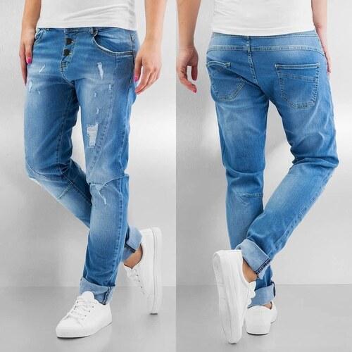 043f924e855 Just Rhyse Destroyed Boyfriend Jeans Light Blue - Glami.cz
