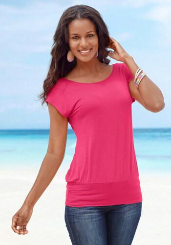 LASCANA Dlouhá trička 2ks Lascana růžová+černá - Glami.cz dae9809545