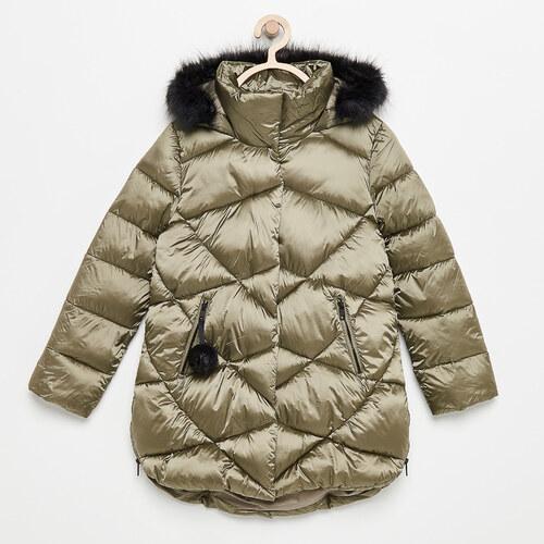 Reserved - Steppelt kapucnis kabát - Zöld - Glami.hu 504b1223f0