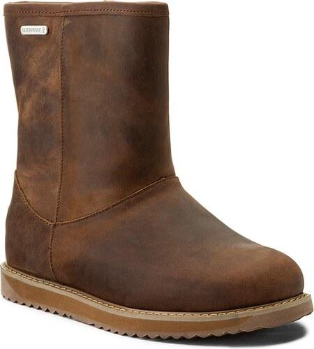 e14e01692c3 Boty EMU AUSTRALIA - Paterson Classic Leather Lo W11620 Oak - Glami.cz