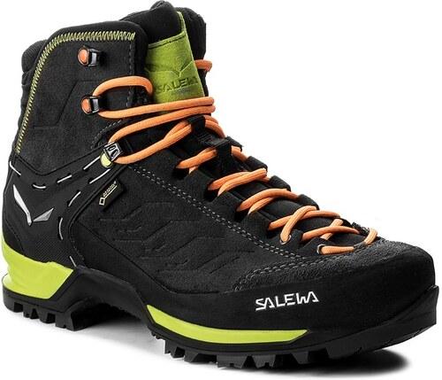 4676111a241 Trekingová obuv SALEWA - Mtn Trainer Mid Gtx GORE-TEX 63458-0974  Black Sulphur Spring